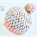 [Video Tutorial] Super-Easy Crochet Puff Stitch Hat Pattern Tutorial - Page 2 of 2
