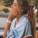 Ways to use a scarf on your hair: Scarf, bandana, and scrunchy inspirations ...