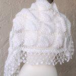 Wedding Shawl,Bridal Shrug, Crochet Shawl, Bridal Bolero, Bridal Shawl,Bridal Wrap,Bridal Cover up, Winter Wedding Shawls and Wraps,Capelet