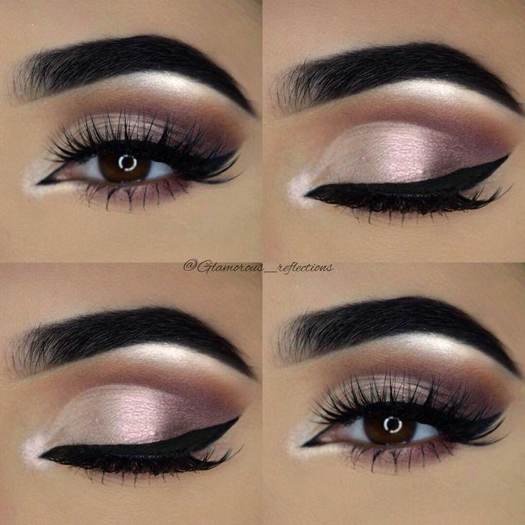 Wedding day makeup for brown eyes looking – #Eye #brown #fur #wedding time