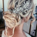 Wedding hair accessories Crystal Bridal hair piece Bridal hair vine Rose gold wedding headpiece Bridal hair pieces Weddong Crown Gold Tiara