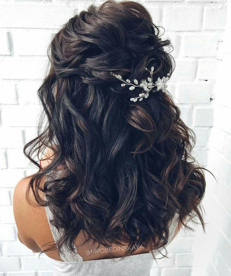 Wedding hairstyle   Half up wedding hair   Wedding hair   Desiree Hartsock