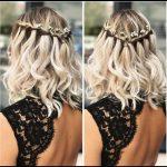 Wedding hairstyles for short to medium-long hair # Wedding hairstyles #Short # Mittellanges