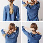 Wenn du es eilig hast, aber deinen Haaren das gewisse Etwas für's Büro verleih...