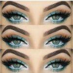 Wie Rock-Make-up für grüne Augen und Make-up-Ideen Tutorials  Augen