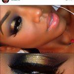 Wie dramatische Augen Make-up für Hazel Eyes Make-up Pinsel Loreal #makeupbox #...