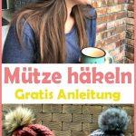 Winter Mütze häkeln - kostenlose & einfache Anleitung