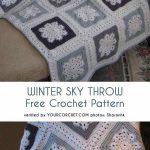 Winter Sky Throw Free Crochet Pattern