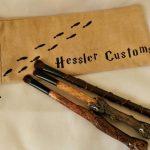 Wizard Wand Eye Makeup Brush Set, Makeup Brush Eye Set, Golden Trio Inspired, Handmade Makeup Brushes, Wizard Wand Makeup Brushes