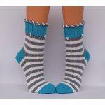 Wollsocken Socken handgestrickte Damensocken Kuschelsocken Größe 40/41