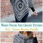 Women Poncho Free Crochet Patterns - Crochet and Knitting Patterns