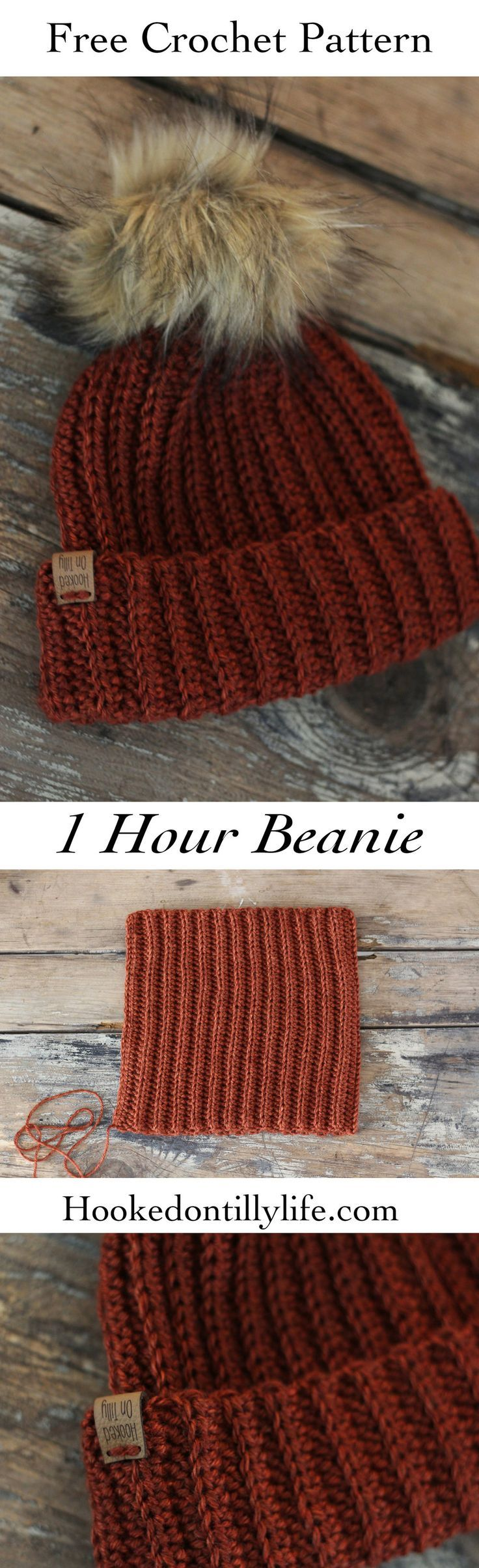 Woodland Beanie – Free Crochet Pattern