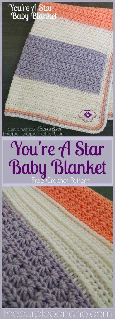 You're A Star Baby Blanket – Free Crochet Pattern