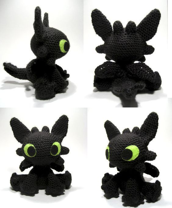 Zahnloses Muster // Frei häkeln Zahnloses Amigurumi-Muster   – DIY and crafts -…