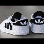 Zapatitos adidas tejidos a crochet 3-6 meses