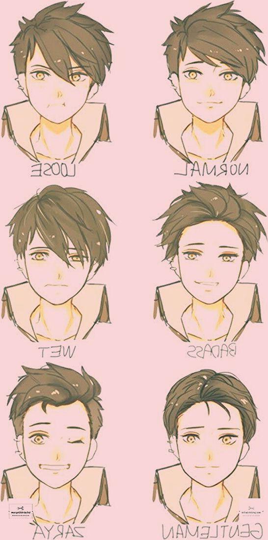 Zeichnen Sie Referenzstil junge Männer … # Frisuren – #frisuren #junge #Männ…