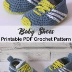 baby shoes crochet patterns - baby gift - crochet pattern pdf - amorecraftylife....