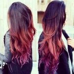 brown to blonde ombre and light purple - Google Search