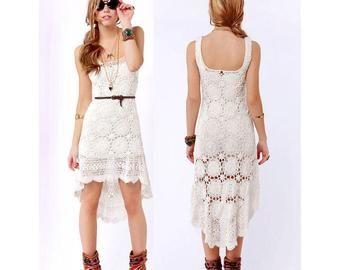 crochet dress pattern,detailed tutorial,crochet high low dress,crochet maxi beach dress,crochet summer boho dress,crochet woman lace dress,