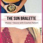 crochet the Sun Bikini easy pattern #crochetclothes crochet the Sun Bikini free ...