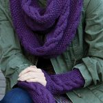 Hat, Scarf, and Mitt Sets Knitting Patterns