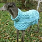 dogs+crochet | Hartwood Roses: Crocheted Dog Sweater for the Greyhounds Rock Sil...