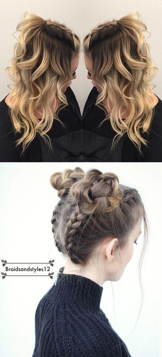 #easy #Hair #Hairstyles #Min #School #Styles