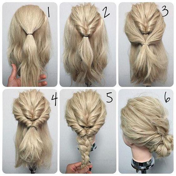 #easy #diy #hairstyle
