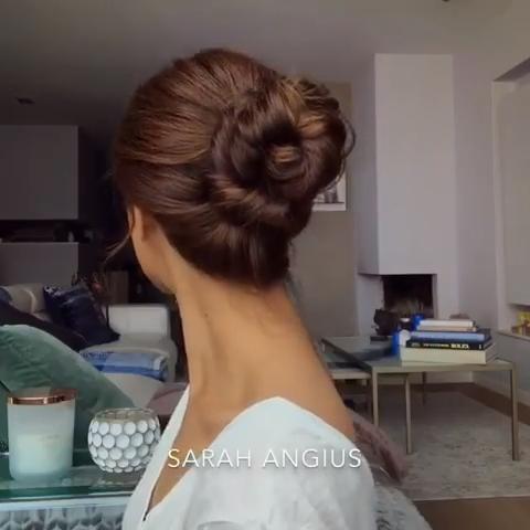 #favourite #updo #hairtutorial #bun #braiding #hairstyles #braids #bun
