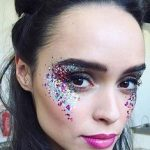 festival_glitter_trend #maquillaje #makeup