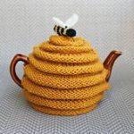frazzledknitter's Beehive Tea Cozy