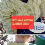 free aran knitting patterns child ~ frei aran strickmuster kind ~ #free #aran #k...