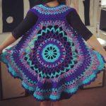 free patterns to crochet crochet poncho pattern free MANTKUL