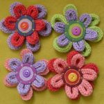 french knitted flowers,  #flowers #French #frenchknitting #Knitted