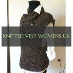 gestrickte weste damen uk #knitted #vest #womens
