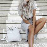 graue Haarfarbe Trend - extrem und modisch                                      ...