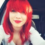 (hair) favorite red is this red.
