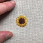 hand embroidery running stitch designs #Handembroiderystitches