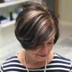 kurze Frisuren für dickes Haar Über 40 # Frisuren für Frauen in den 50ern - #...