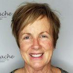 kurze Frisuren über 40 Bangs # Frisuren für Frauen in ihren 50ern - #50ern #ba...