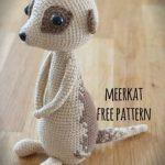 meerkat, free crochet pattern, wzór, szydełko, surykatka, darmowy wzór, diy