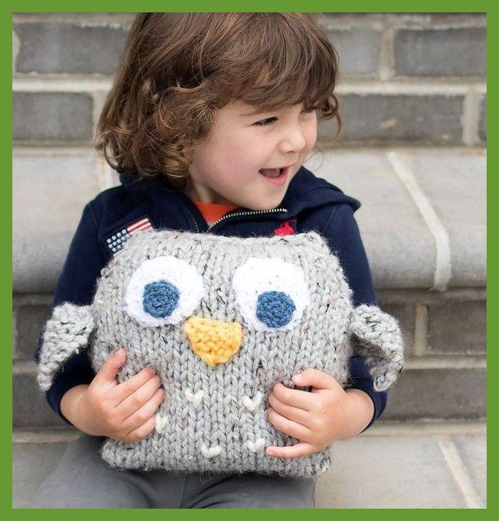 patrón de tejer easy plush owl de gina michele ; einfaches plüsch-eulen-strick…