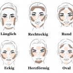 richtig konturieren anfänger schminken gesichtsform bestimmen make-up  #makeup