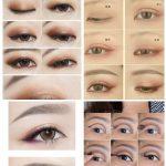 sexy eye japanische Augen Make-up koreanisch asiatisch #Japanesemakeup #TypesOfM...