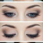 smokey-eyes-blaue-augen-schminktipps-leicht-entzueckend-makeup #hair #love #st...