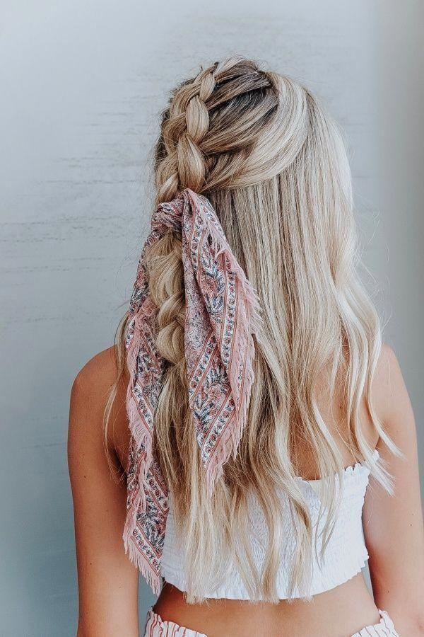 su00fcu00dfe Frisuren cute hairstyles || easy hair styles for long hair; half …